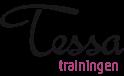 Dit is het logo van mijn bedrijf Tessa Trainingen.